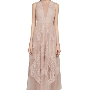 Andi Lace Dress by BCBG in Bare Pink, Like NEW